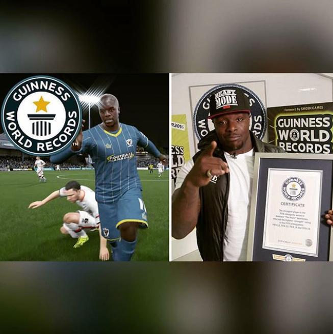 У Адебайо Акинфенва максимальный рейтинг силы в FIFA – 99